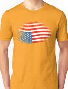 Upside Down American Flag US in Distress T-Shirt Unisex T-Shirt
