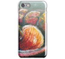 Cherries in chalk  iPhone Case/Skin