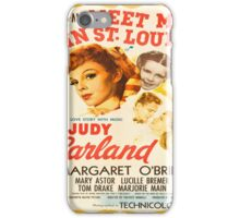 Vintage poster - Meet Me in St. Louis iPhone Case/Skin