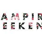Vampire Weekend Floral by revpooch