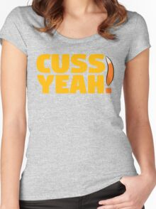 The Fantastic Mr. Fox - Cuss Yeah! Women's Fitted Scoop T-Shirt