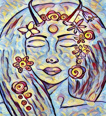 Alma dream. Sticker