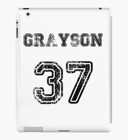 Grayson No. 37 iPad Case/Skin