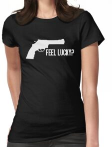 Dirty Harry - Feel Lucky? Womens Fitted T-Shirt