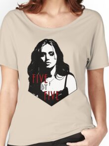 FAITH LEHANE: five by five Women's Relaxed Fit T-Shirt
