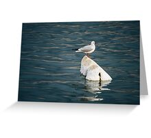 Floated Greeting Card