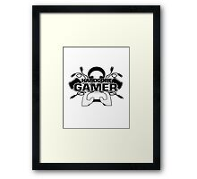 Hardcore Gamer Framed Print