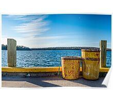 Fishermans Cove, Nova Scotia Poster