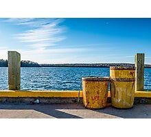 Fishermans Cove, Nova Scotia Photographic Print