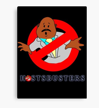 Hostsbusters Canvas Print