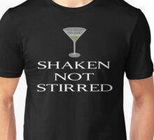 James Bond - Shaken Not Stirred Unisex T-Shirt