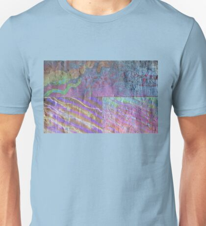Abstract Photography: Oilslick Collage Unisex T-Shirt