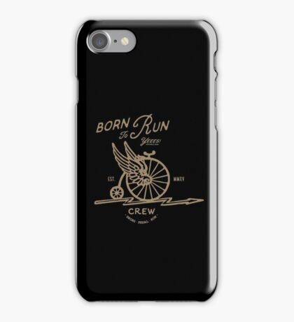 Born to Run Bike iPhone Case/Skin