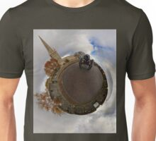 St Columb's Cathedral from Derry's Walls at Church Bastion, Derry Unisex T-Shirt