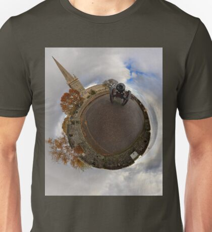 St Columb's Cathedral from Derry's Walls at Church Bastion, Derry T-Shirt