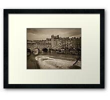 Pulteney Weir Framed Print