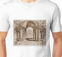old architecture illusration Unisex T-Shirt