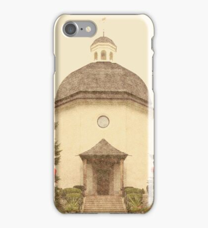 Silent Night Memorial Chapel - Frankenmuth iPhone Case/Skin