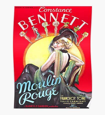 Vintage poster - Moulin Rouge Poster