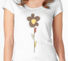 Earthy Daisy Women's Fitted Scoop T-Shirt