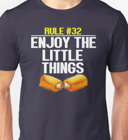 Zombieland - Rule #32 Enjoy The Little Things Unisex T-Shirt