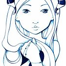 blue demon by ninamarie