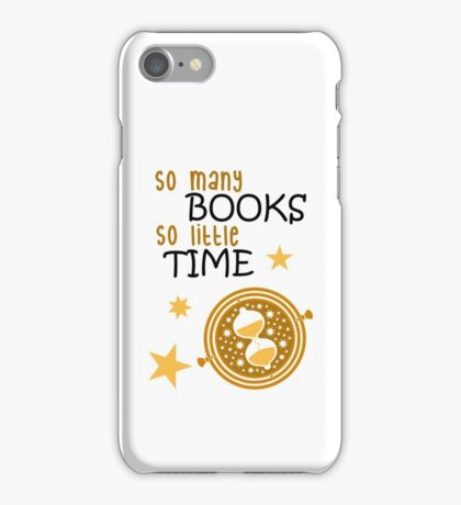 SO MANY BOOKS iPhone Case/Skin
