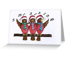 Seasons Tweetings Greeting Card