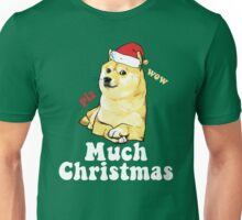 Much Christmas - Doge Meme Unisex T-Shirt