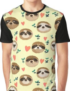 Sloths <3 you!  Graphic T-Shirt