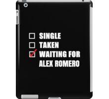 Waiting for Alex Romero iPad Case/Skin