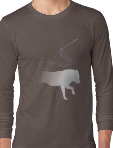 Expecto Patronum Direwolf Long Sleeve T-Shirt