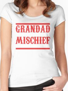 GRANDAD Women's Fitted Scoop T-Shirt