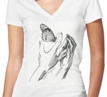 Touch Women's Fitted V-Neck T-Shirt