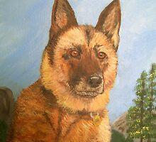 German Shepherd by Karen Wilson