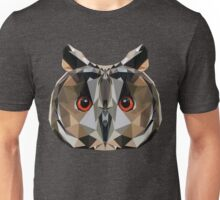 Low Poly Owl Unisex T-Shirt