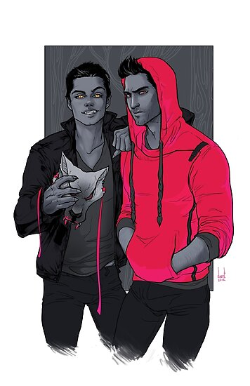Teen Wolf - Little Red Has Pointy Teeth by daunt