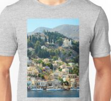Yachts in Yialos Unisex T-Shirt