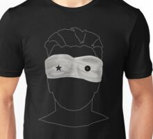 Black/Star:Twin Unisex T-Shirt