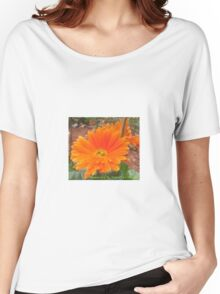 Orange Blossoms  Women's Relaxed Fit T-Shirt