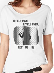 The Walking Dead Little Pigs Negan Women's Relaxed Fit T-Shirt