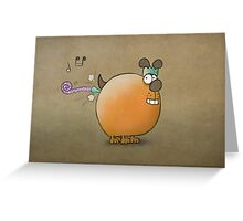 Toot Greeting Card