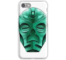 traditional dragon priest mask iPhone Case/Skin