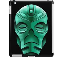 traditional dragon priest mask iPad Case/Skin
