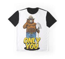 Smokey The Bear T-Shirt Graphic T-Shirt
