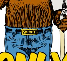 Smokey The Bear Sticker
