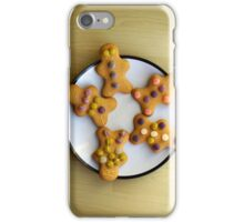 The Five Gingerbread Men iPhone Case/Skin