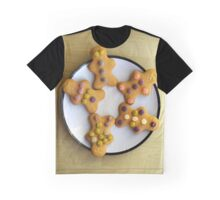 The Five Gingerbread Men Graphic T-Shirt