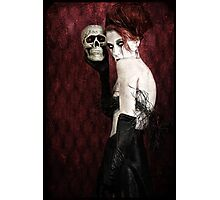 Let Me Sing You a Skullaby Photographic Print
