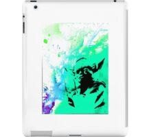 Yoda Paint splatter iPad Case/Skin